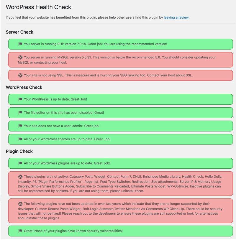 Wordpress onderhoud stappenplan supersites voor vrouwen for Consul mysql health check